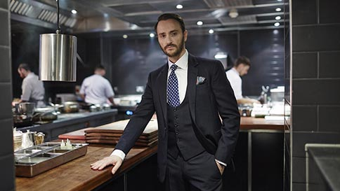 Chef jason atherton as