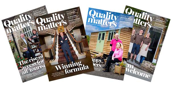Quality Matters magazines