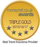 AA travel insurance 5 star award