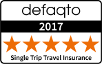 Defaqto single trip travel