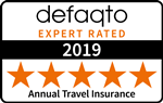 Defaqto 5 Star rated annual travel insurance