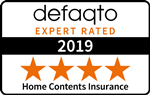 Defaqto 4 Star rated home contents insurance
