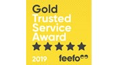 AA Car Insurance Feefo Gold Trusted Service Award 2019