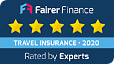 Fairer Finance Travel Insurance 5 stars