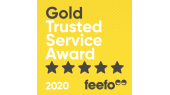 Feefo Gold Trusted Service Award 2020