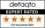 Defaqto 5 Star rated car insurance