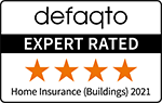 Defaqto 4 Star rated home buildings insurance