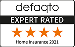 Defaqto 4 Star rated home insurance