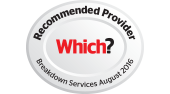 Which? Recommended provider Breakdown Services August 2015