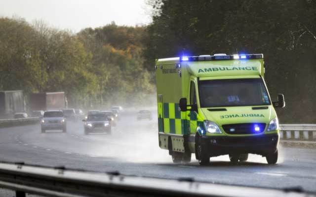 Accidents with emergency vehicles