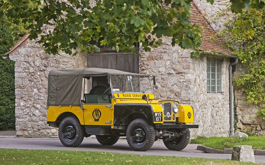 Aa land rover series 1 heritage patrol vehicle 855x 535